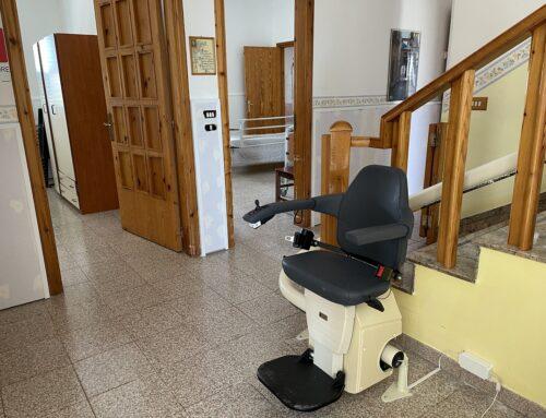 Installazione montascale residenza per anziani – Modica (RG)